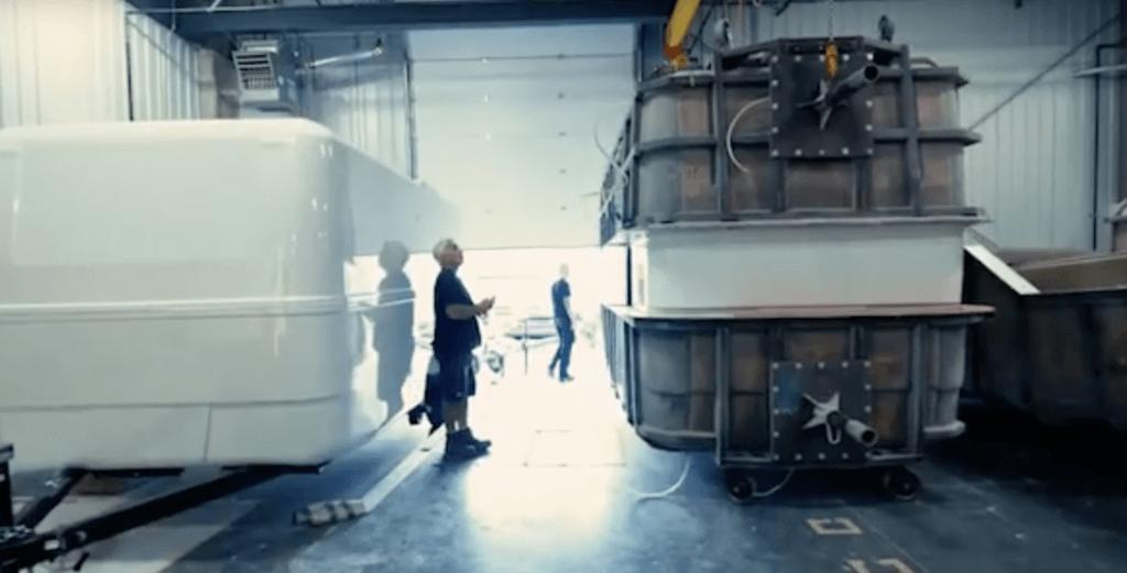 fiberglass travel trailer
