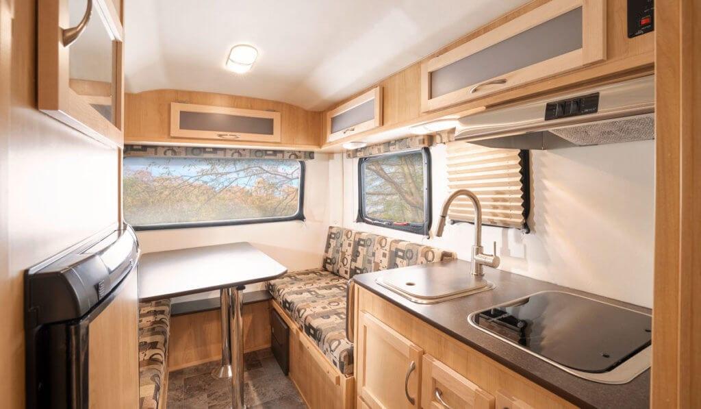 Compact RV interior