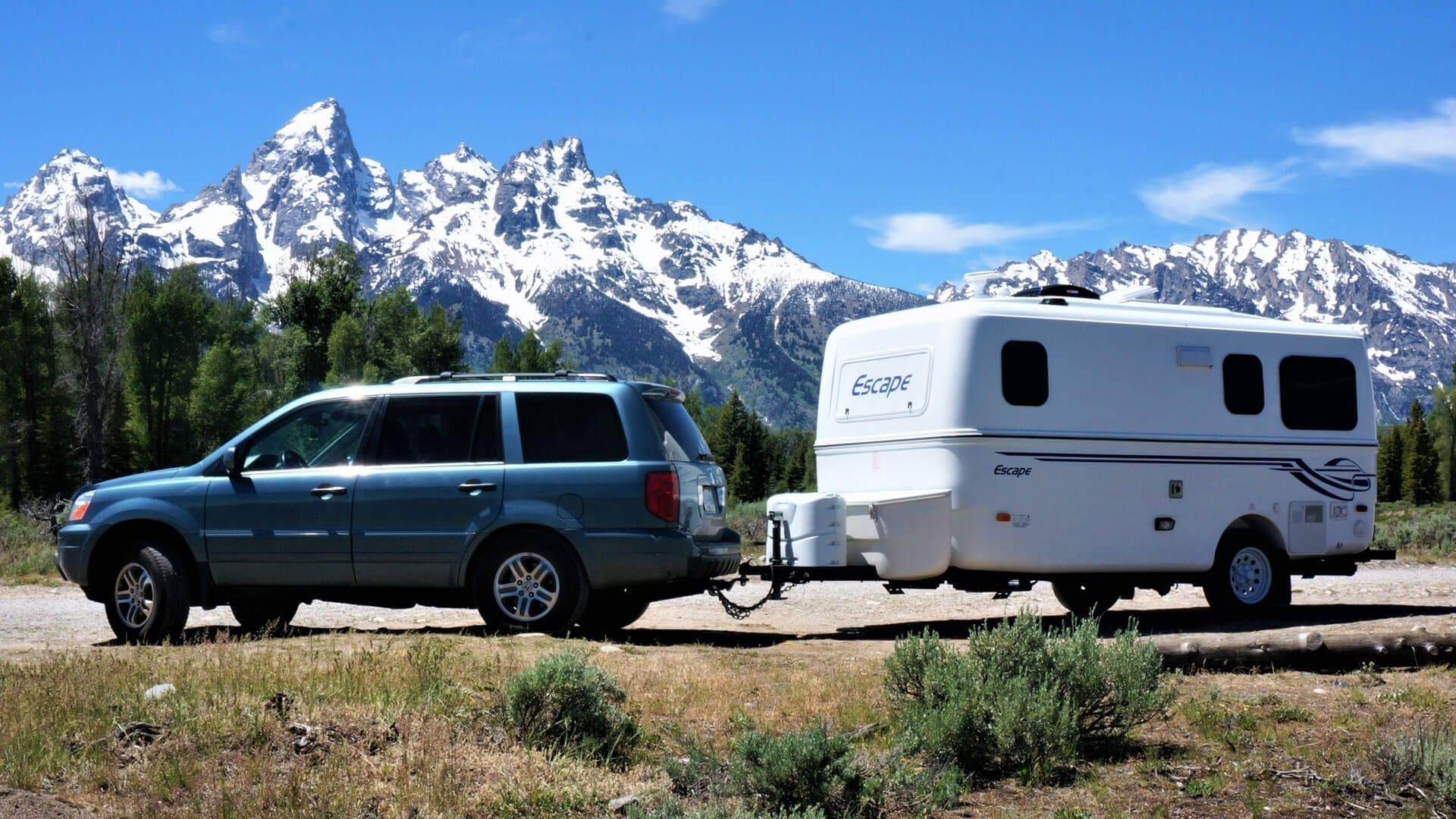 Lightweight 17 foot camper