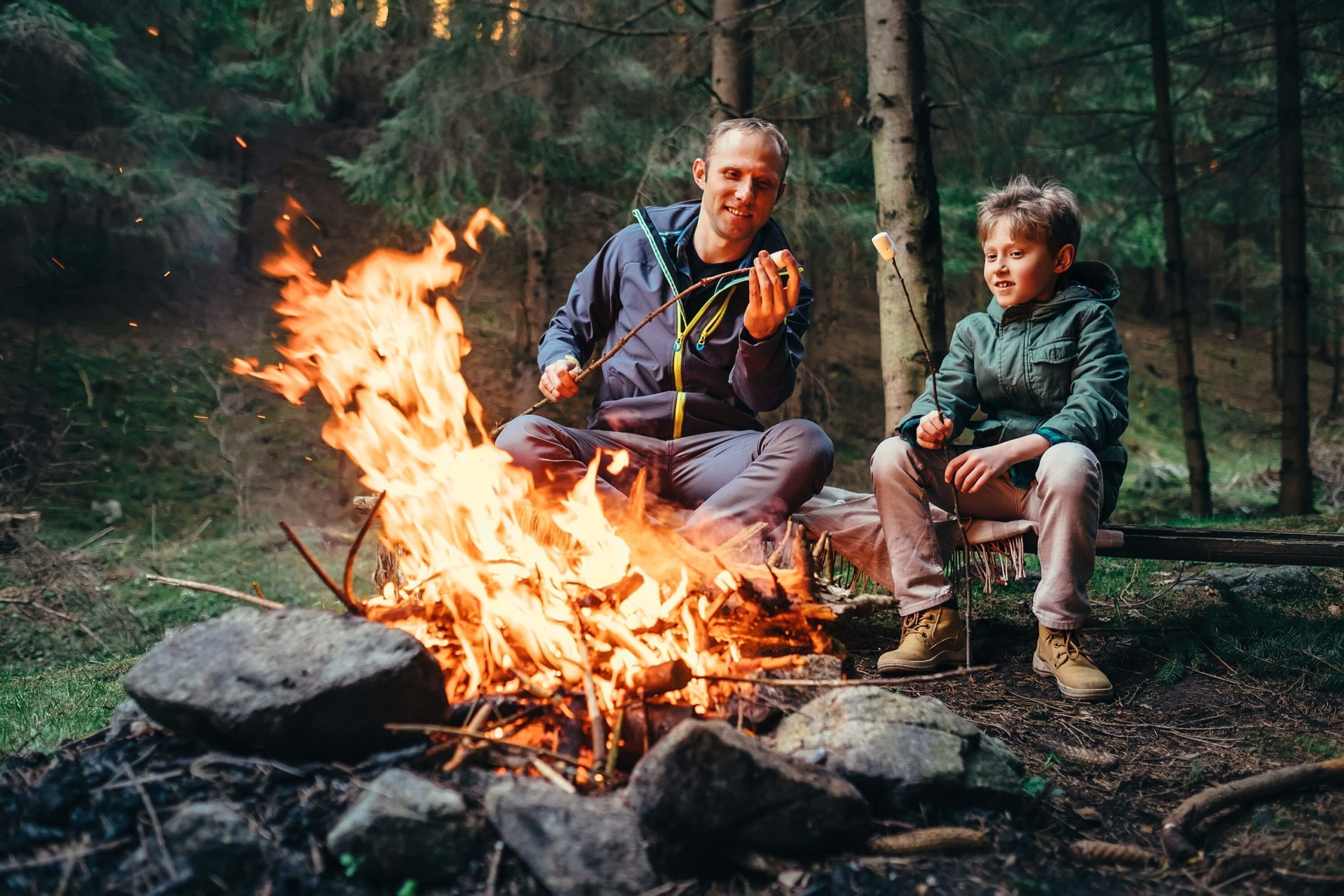 camping with families