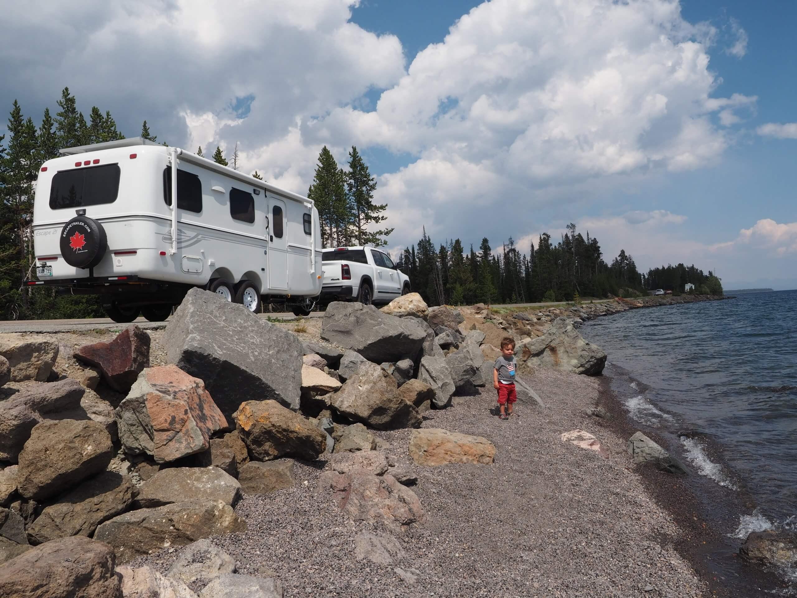 lightweight travel trailer