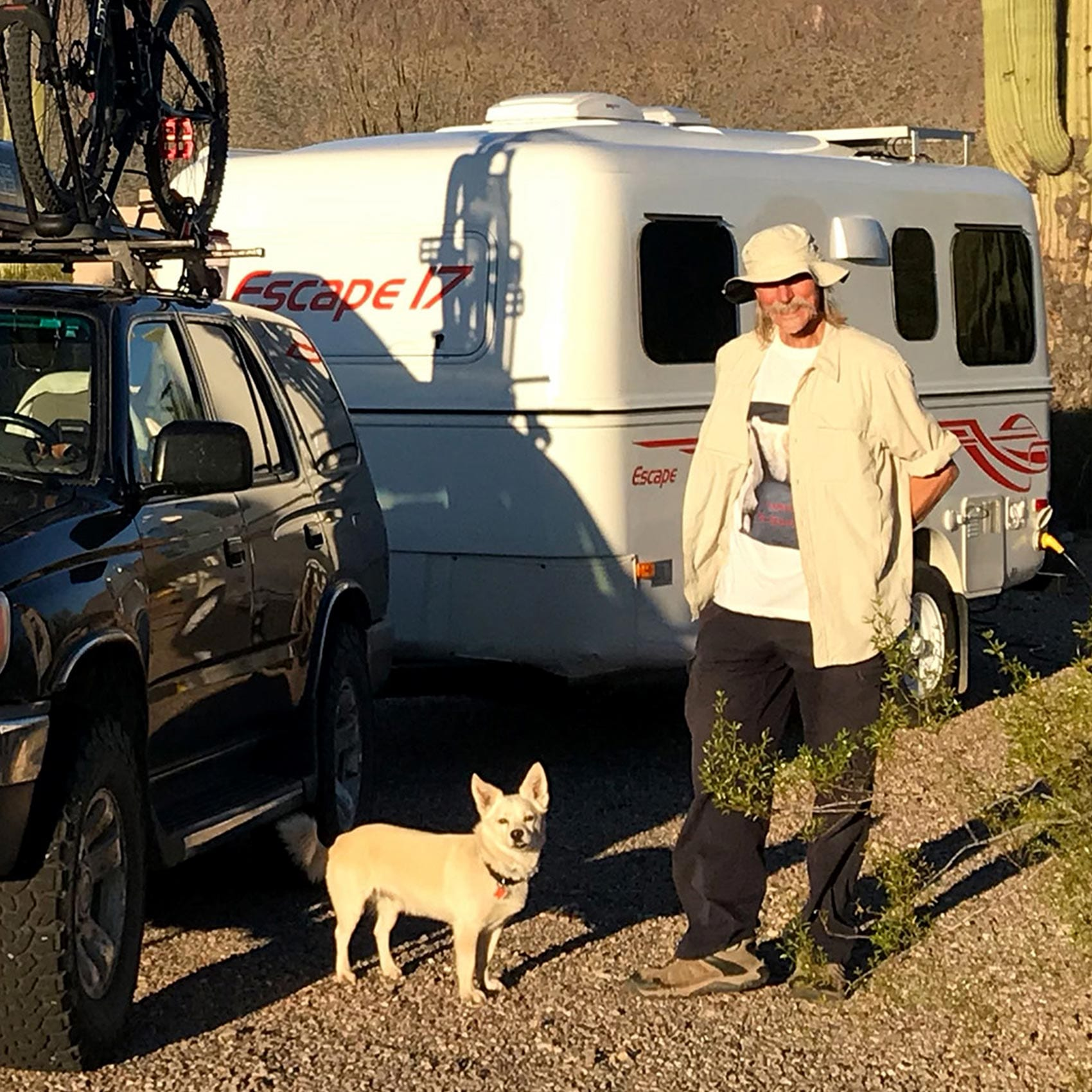 travel trailers with dogs