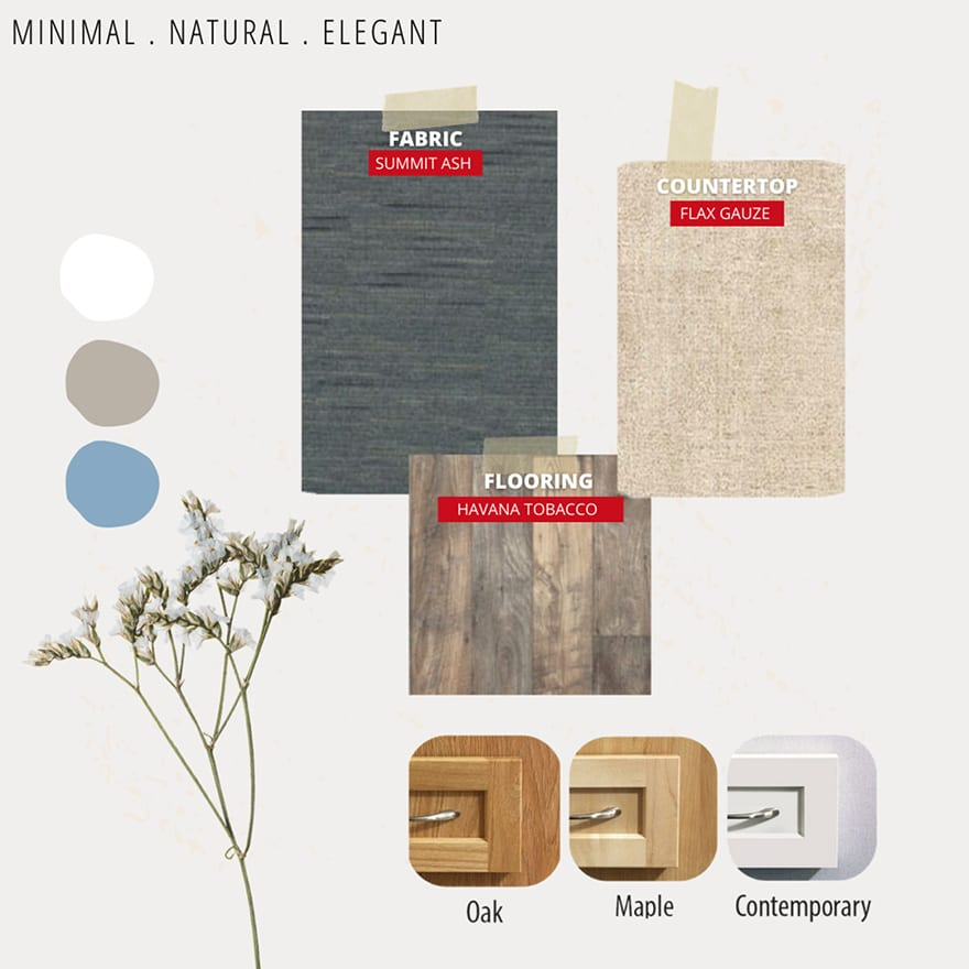 Minimal. Natural. Elegant
