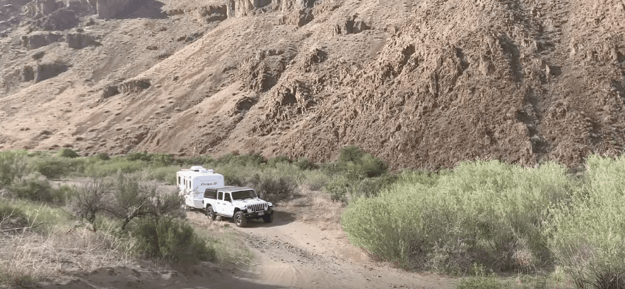 overlanding with an RV